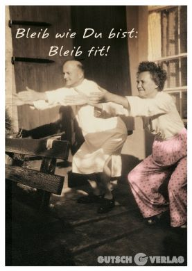 Bleib fit!