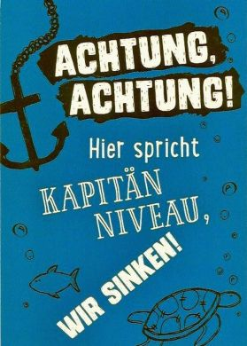 Achtung, Achtung!